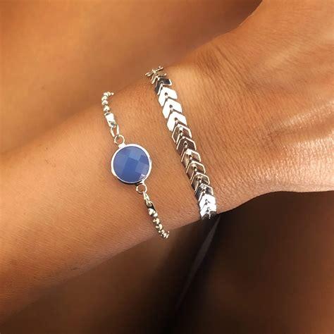 bracelet-argente-femme
