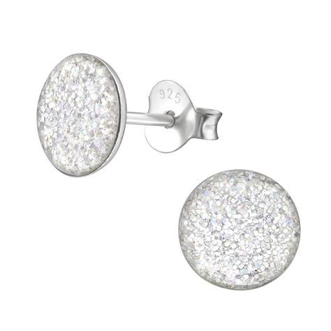 Puces d'oreilles Confettis jaune