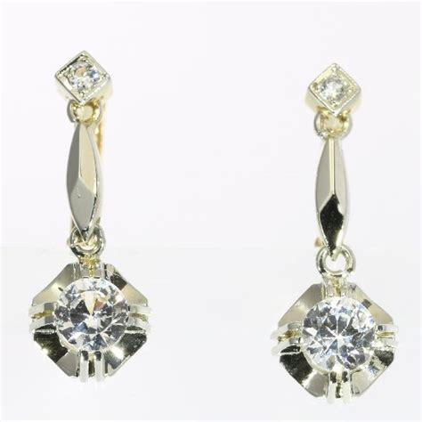 Boucles d'oreilles Cécla – blanc