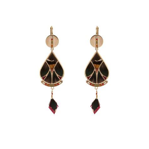 Boucles d'oreilles Cécla – vert kaki