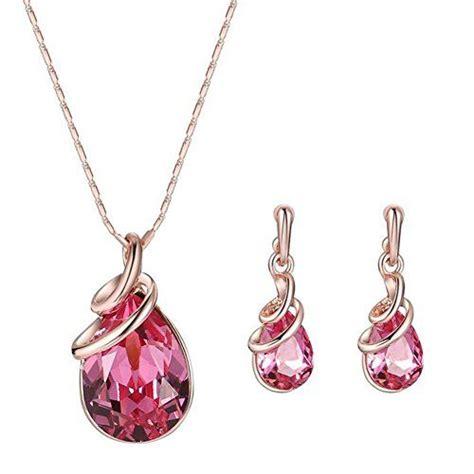 Boucles d'oreilles Cécla – rouge foncé