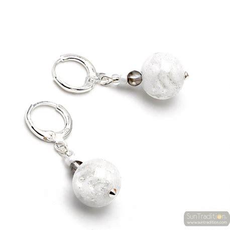 Boucles d'oreilles Céleste – blanc