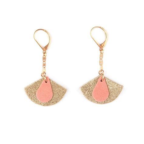 Boucles d'oreilles Céleste – rose