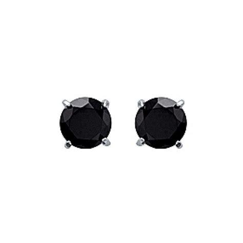 Boucles d'oreilles Céleste – noir